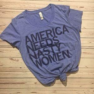 America Needs Nasty Women | Feminist T-Shirt